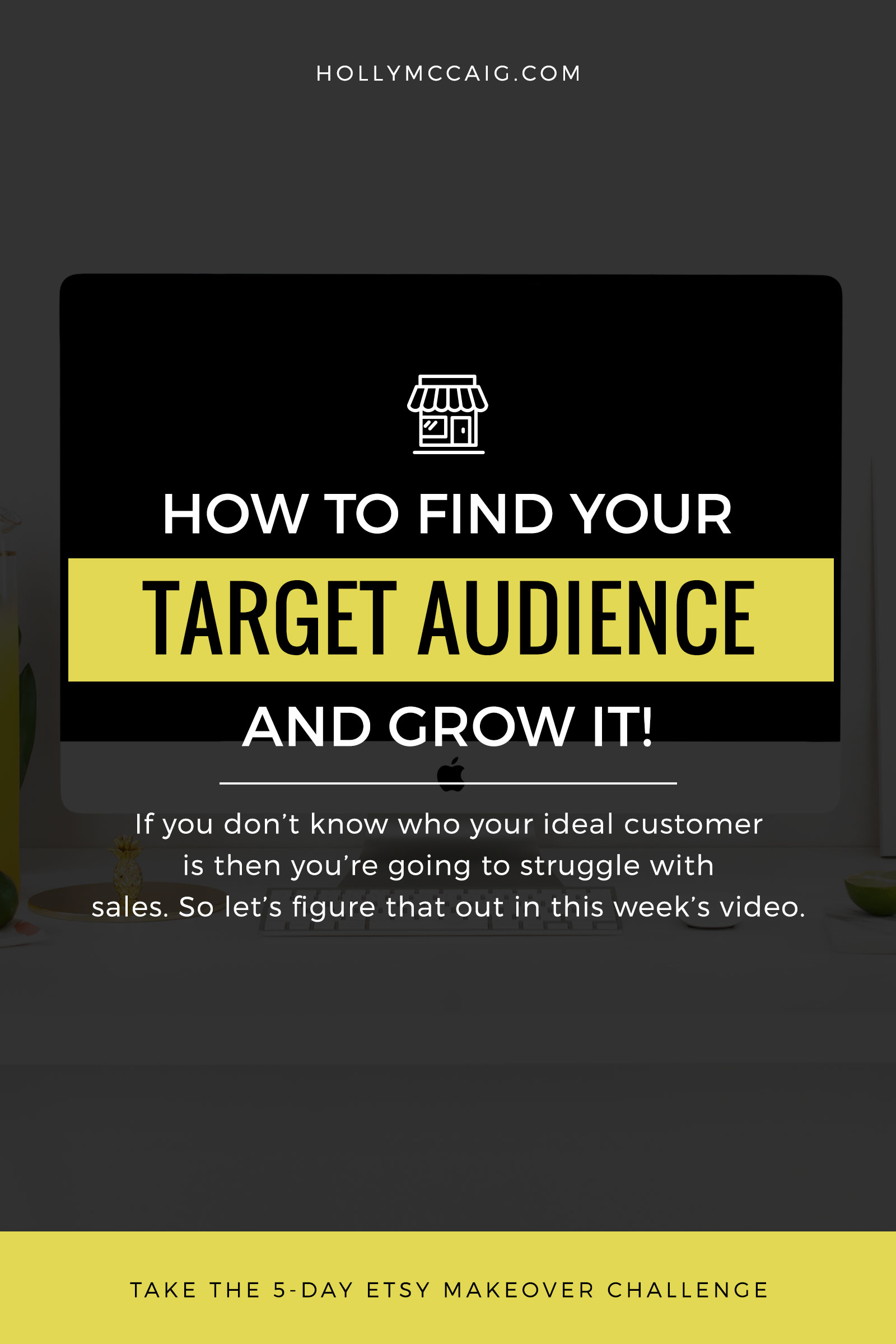 Stop struggling with your sales and business. Learn how to find your target audience and attract the right people to you!