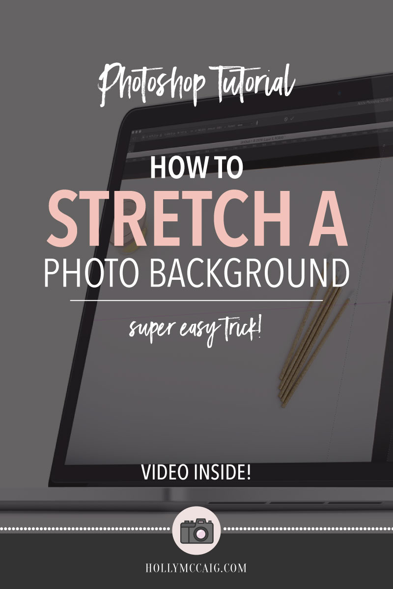 I'll show you how to stretch a photo background in Photoshop in this Photoshop tutorial. Ever been faced with a photo that doesn't fit right? Or the background isn't quite filling the space? Maybe you want a horizontal image to be vertical. Well, stretching your backgrounds is easier than you think! Click to watch and download some free stuff!