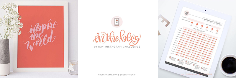 3 Ways to Brand Your Instagram Feed. Looking for three simple ways to instantly start incorporating your brand into your Instagram? Plus, join my 30-Day Instagram Growth Challenge and use the hashtag #hollyinsta so I can follow you!