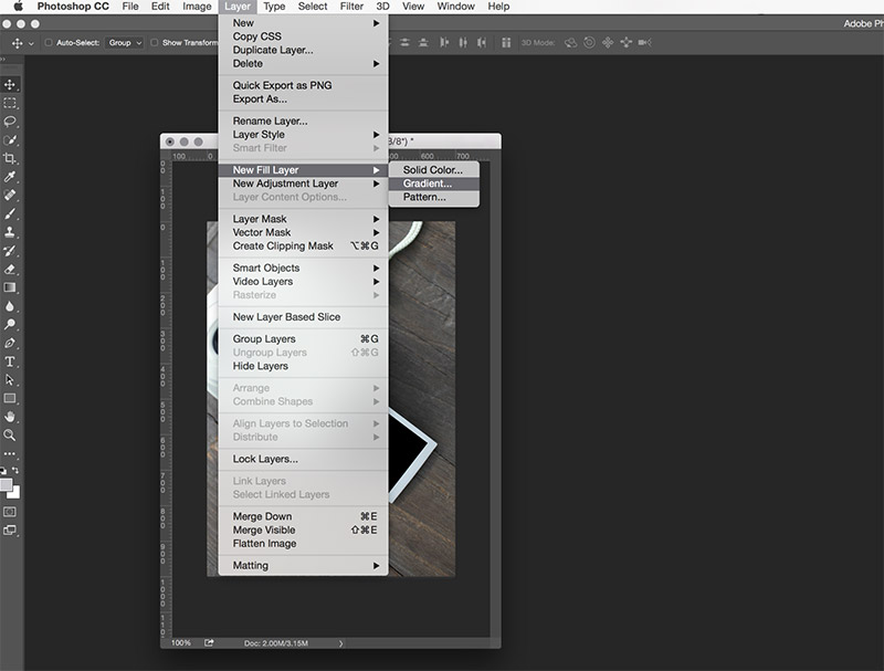 Create a Pinterest Friendly Image using Gradients in Adobe Photoshop - click through for a video tip - and to download a three-pack sample of Pinterest Templates you put to use right now!