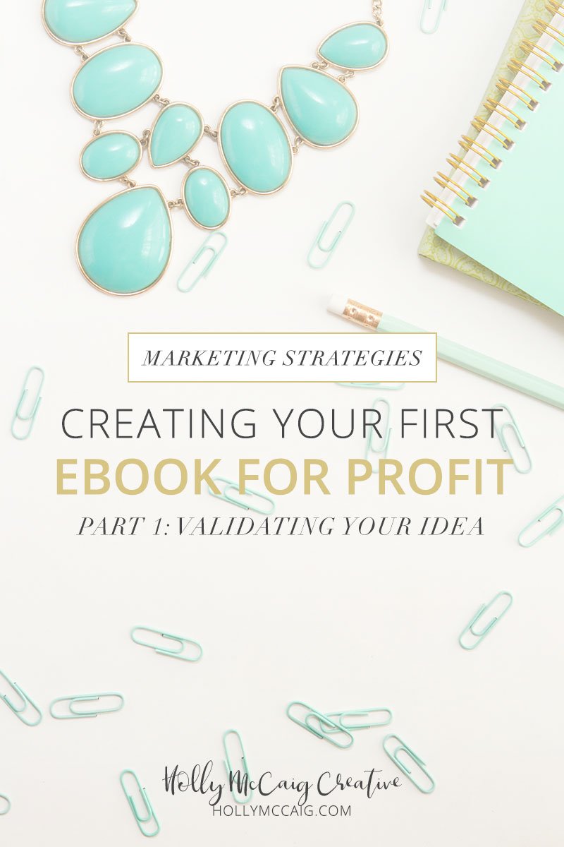 Creating your first ebook for profit doesn't have to be as intimidating as it might feel. If you have an idea that you believe address the frustrations of your audience, you should explore that. Determining if your idea is profitable should be the first thing that you do. Let's discuss!