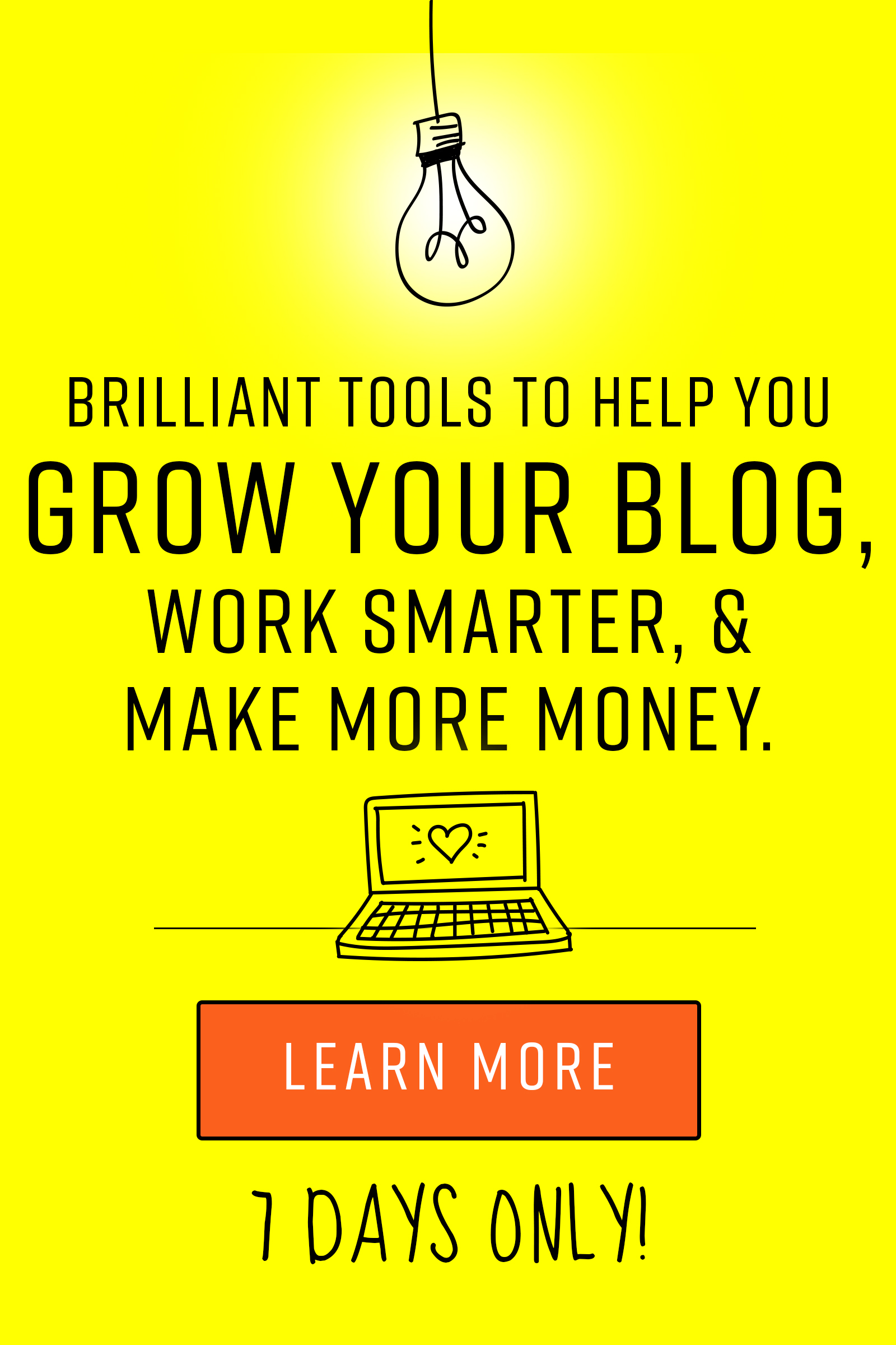 Learn how to start your blog. If you've ever felt overwhelmed with your blogging journey and faced challenges, then the Genius Blogger's Toolkit is for you!