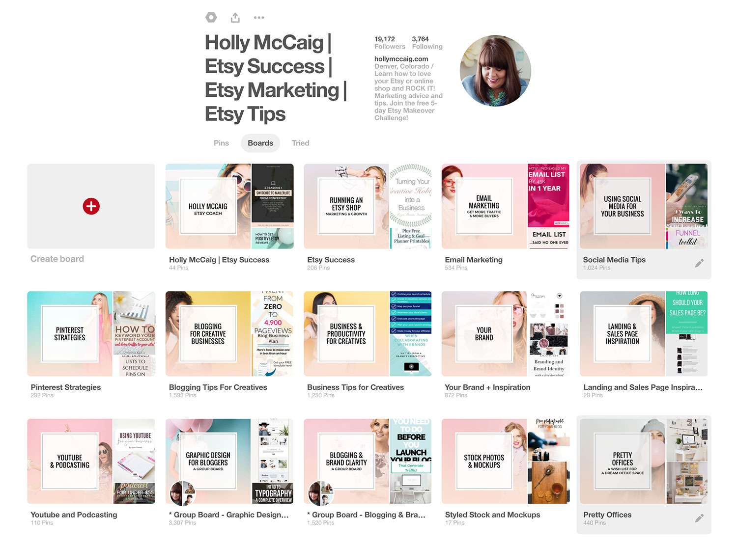 Learning how to attract more buyers to your Etsy shop doesn't have to be difficult. This proven method of using Pinterest will guide you! Be sure to visit hollymccaig.com for more tricks to market your Etsy shop.