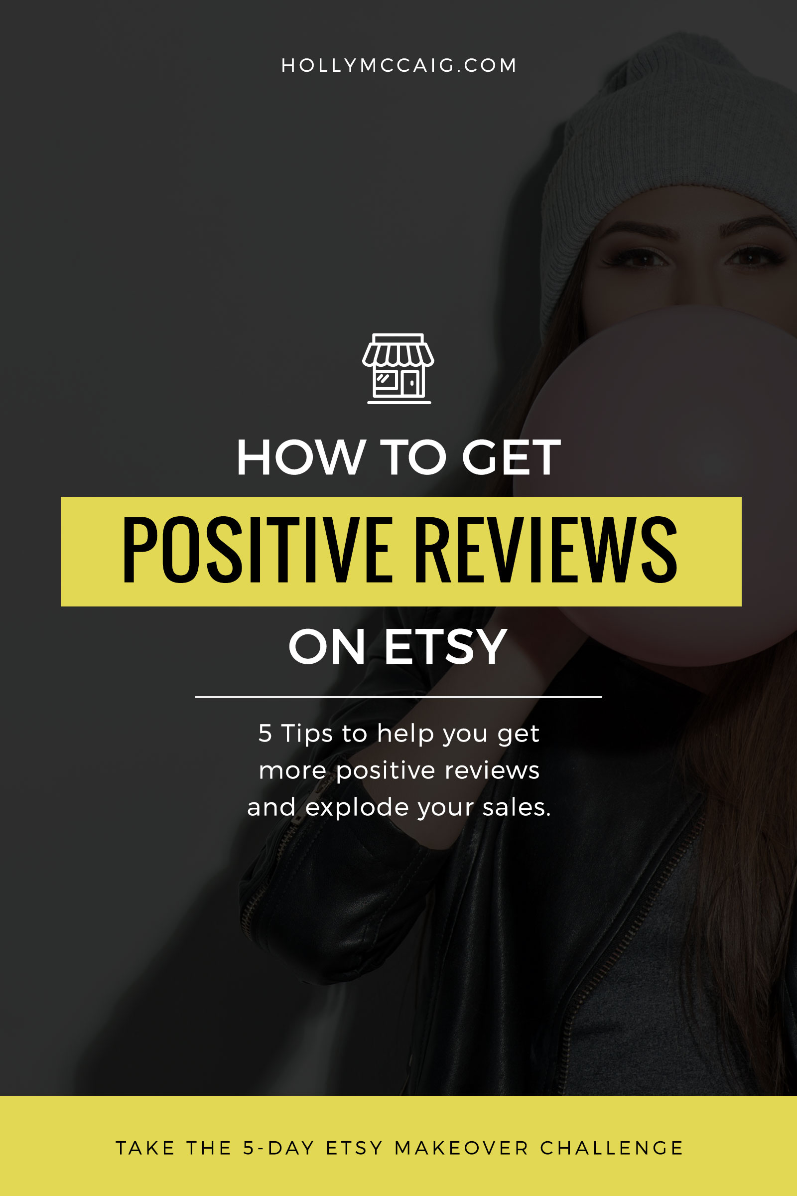 Hey Etsy seller, are you wondering how to get reviews on Etsy that matter? Here are five ways to improve your positive reviews and get you more sales.