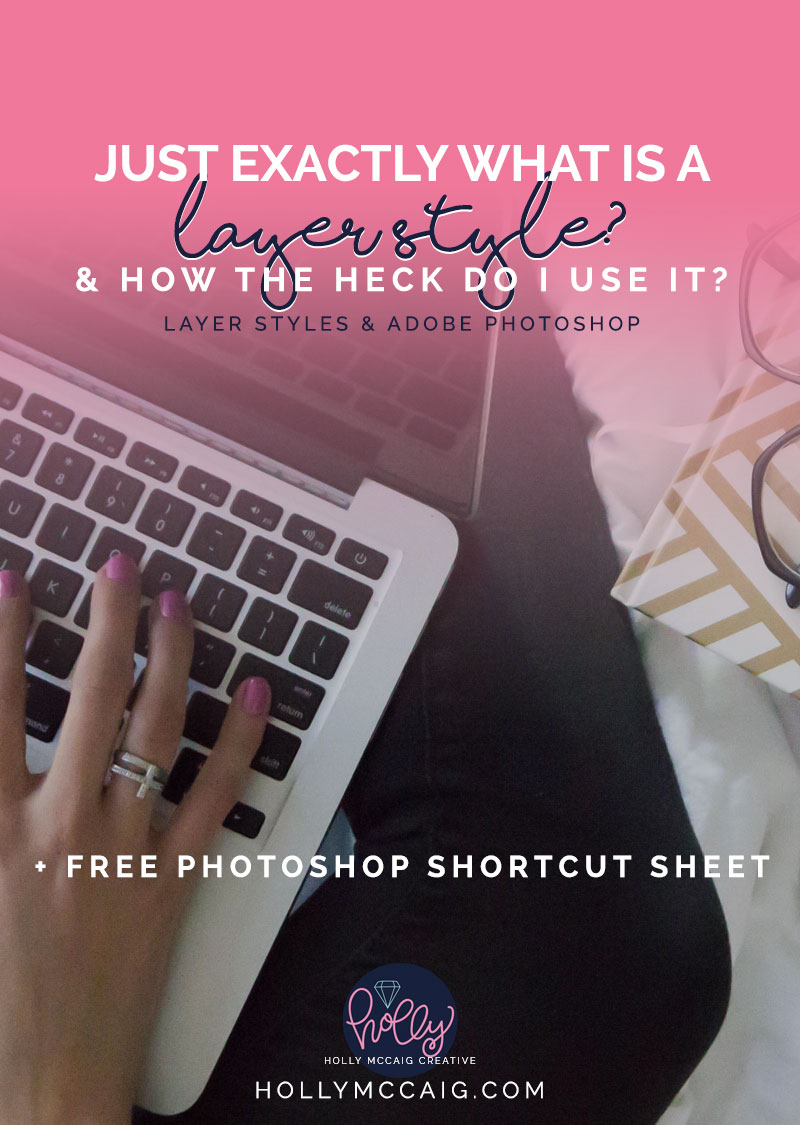 how to use styles in photoshop