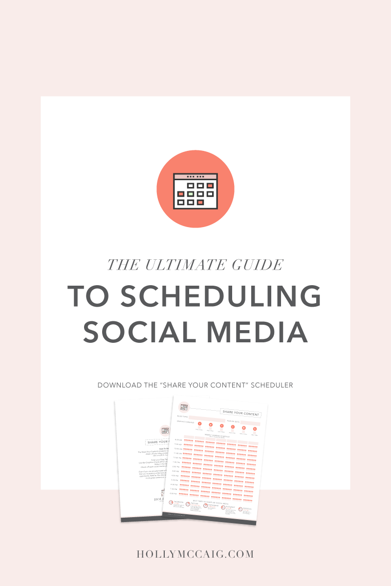 "The Ultimate Guide to Social Media. Download the free ""Share Your Content"" scheduler with best times to post and share image size dimensions for each social platform."